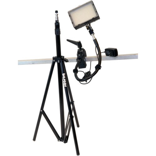 Bescor Grip-181K Gripper Gooseneck Bi-Color 1-Light Kit with Light Stand
