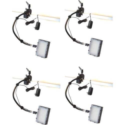 Bescor Grip-184 Gripper Gooseneck Bi-Color 4-Light Kit