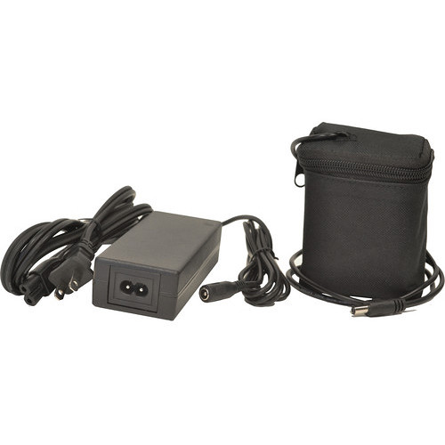 Bescor 104Wh 24V 4.4A Li-Ion Battery Pack with 2.1mm Barrel Plug Automatic Charger