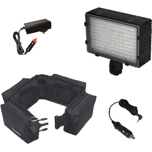 Bescor Extended Battery Kit for 180W Powered-On Camera LED Light