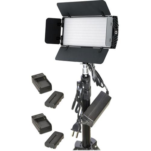 Bescor Photon Single-Light Battery Kit