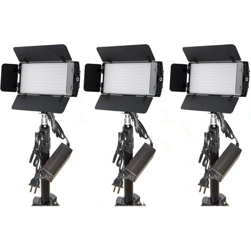 Bescor Photon LED 3-Light Kit