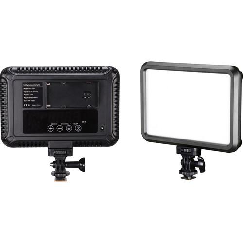 Bescor Specter Slim Bi-Color On-Camera LED Light