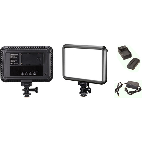Bescor Specter LED Single-Light Kit with Battery, Charger, and AC Adapter