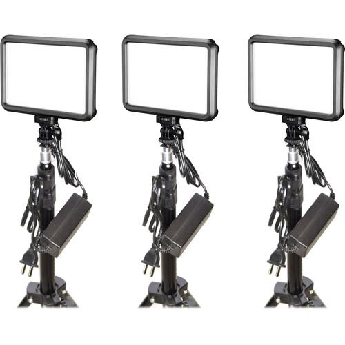 Bescor Specter Slim LED 3-Light Kit