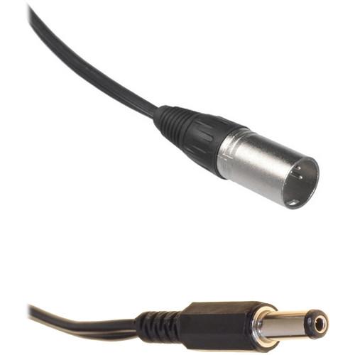 Bescor XLR Male to 2.5mm Barrel Plug