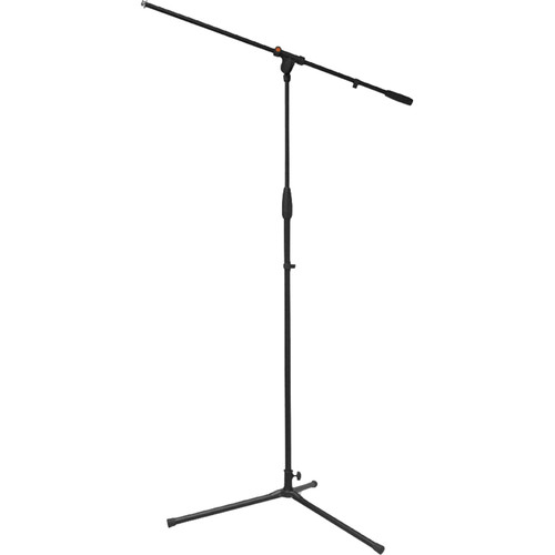 Bespeco StandHard SH12NE Microphone Boom Stand with Adjustable Height (Black)