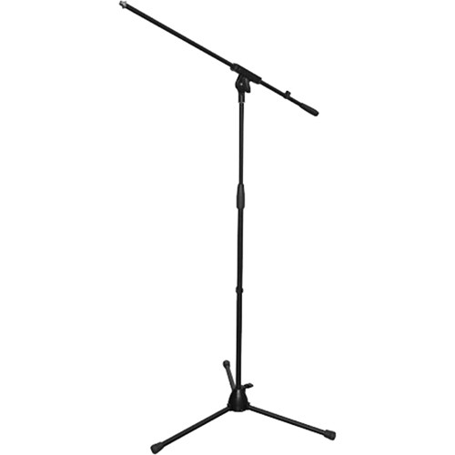 Bespeco StandHard SH14NE Microphone Boom Stand with Adjustable Height (Black)