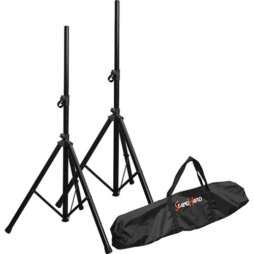 Bespeco SH80N Stand Hard Series Speaker Stand Kit with Nylon Bag (Pair)