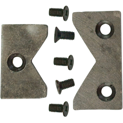 Bessey Pipe Jaw Inserts and Screws for BV-MPV5