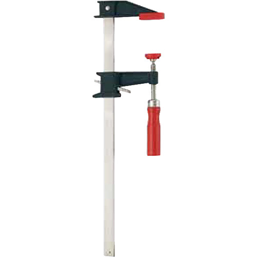 """Bessey Clutch-Style Bar Clamp with Wood Handle (12 x 3.5"""")"""