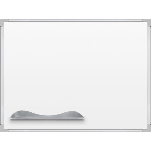 Best Rite Porcelain Steel Whiteboard with Ultra Trim (4 x 6', Silver)