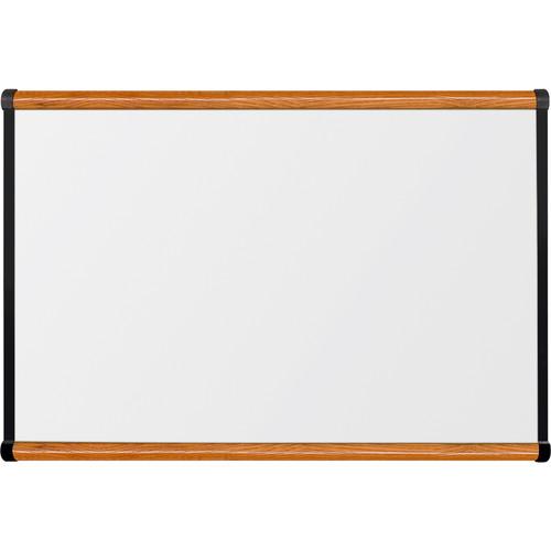 Best Rite Porcelain Steel Whiteboard with Medium Oak Origin Trim (2 x 3')