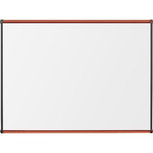 Best Rite Porcelain Steel Whiteboard with Medium Oak Origin Trim (3 x 4')