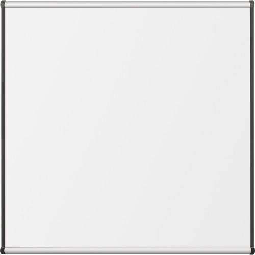Best Rite Porcelain Steel Whiteboard with Aluminum Origin Trim (4 x 4')
