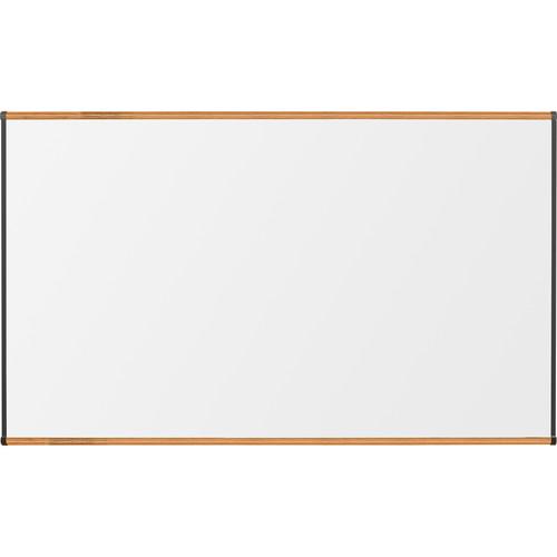 Best Rite Porcelain Steel Whiteboard with Medium Oak Origin Trim (4 x 6')