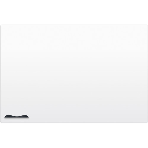 Best Rite Elemental Frameless Magnetic Whiteboard (3 x 4', Glossy Off-White)