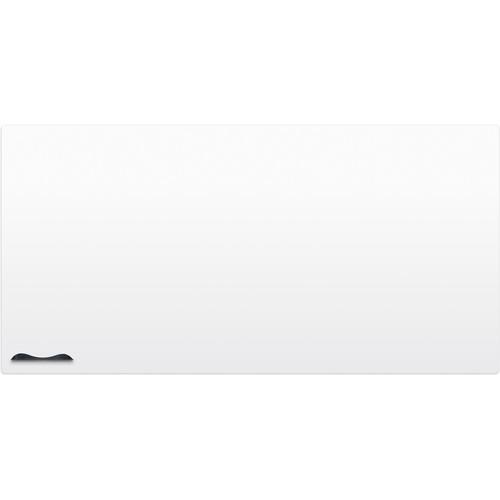 Best Rite Elemental Frameless Magnetic Whiteboard (4 x 8', Glossy Off-White)