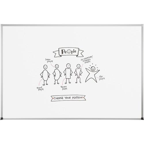 Best Rite Dura-Rite Whiteboard with ABC Trim (2 x 3')