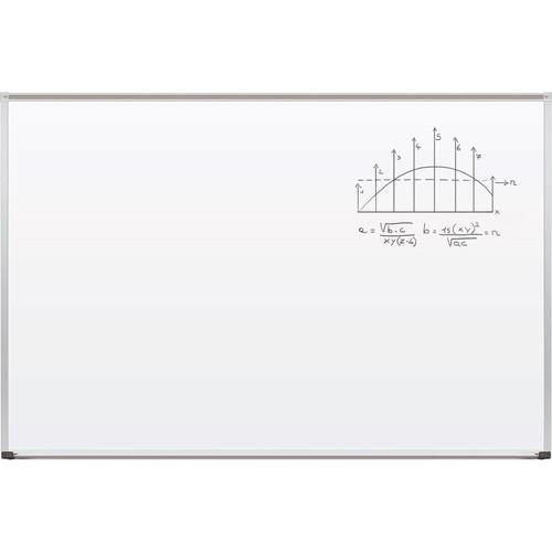 Best Rite Magne-Rite Whiteboard with Aluminum Trim & Map Rail (4 x 6')