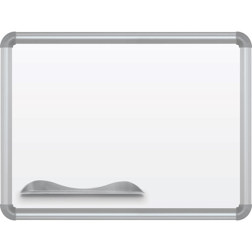 Best Rite Magne-Rite Whiteboard with Silver Presidential Trim (1.5 x 2')