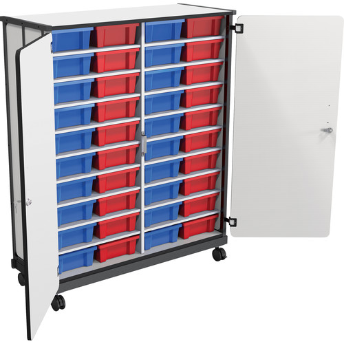 Best Rite Mobile 40-Tub Storage Cart with Full Set of Tubs