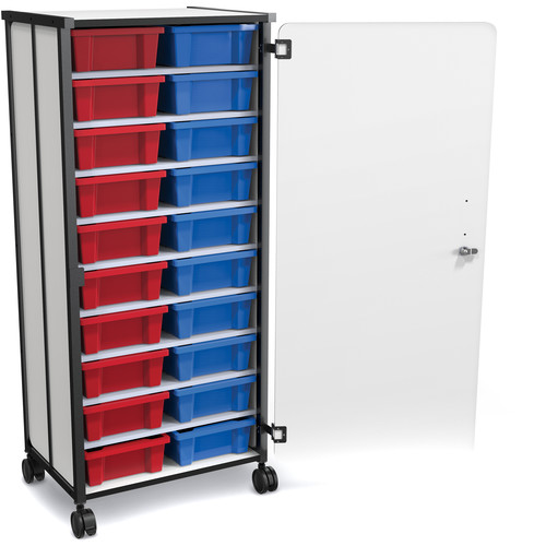 Best Rite Mobile 20-Tub Storage Cart with Full Set of Tubs