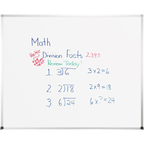 Best Rite TuF-Rite Whiteboard with ABC Aluminum Trim (4 x 5')