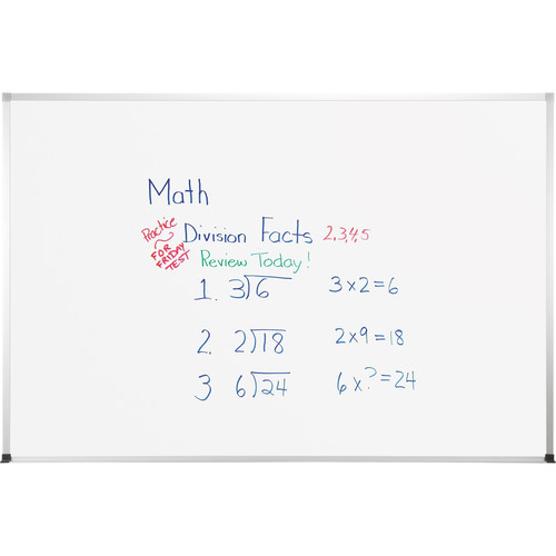 Best Rite TuF-Rite Whiteboard with ABC Aluminum Trim (4 x 6')