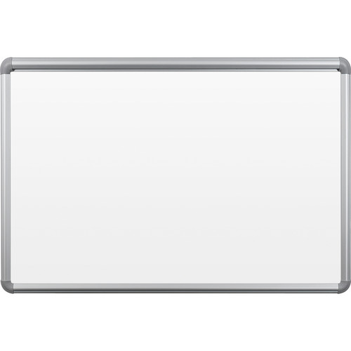Best Rite 2H1PB-BT Presidential Bite Whiteboard with Tackless Paper Holder (2 x 3')