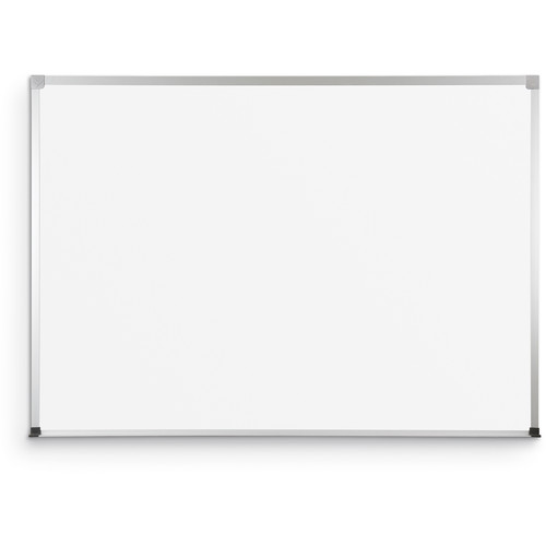 Best Rite Magnetic Porcelain Steel Markerboard with ABC Trim (4' x 4')