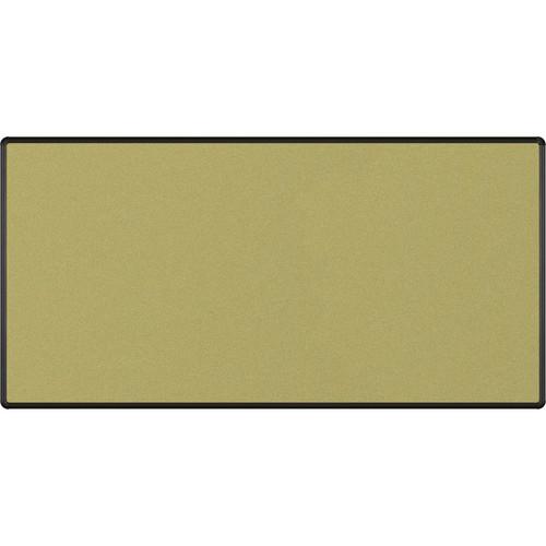 Best Rite Splash-Cork Tackboard with Black Presidential Trim (4 x 8', Green)