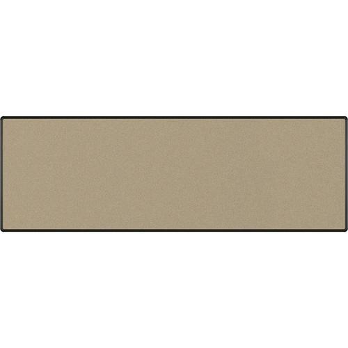 Best Rite Splash-Cork Tackboard with Black Presidential Trim (4 x 12', Blue)