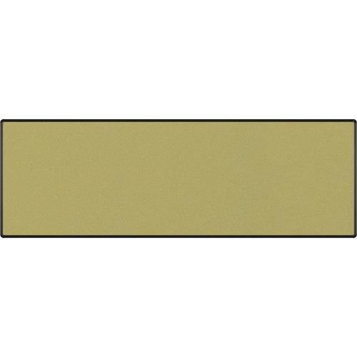 Best Rite Splash-Cork Tackboard with Black Presidential Trim (4 x 12', Green)