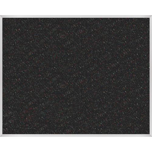 Best Rite Rubber-Tak Tackboard with Aluminum Trim (4x 5', Multi-Color)
