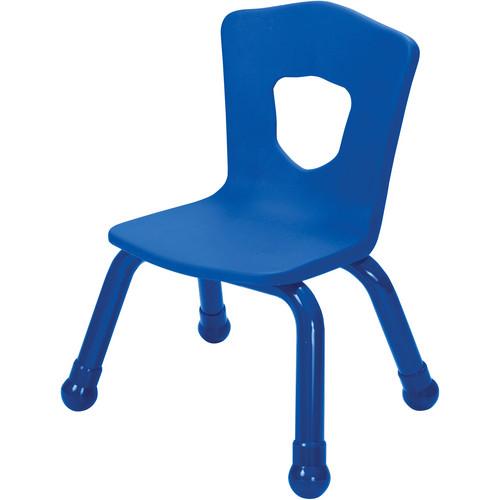 Best Rite 34518 Brite Kids Chair (Royal Blue - Set of 4)