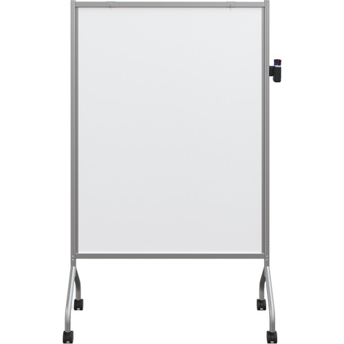 Best Rite Mobile Whiteboard Non-Magnetic (Platinum)