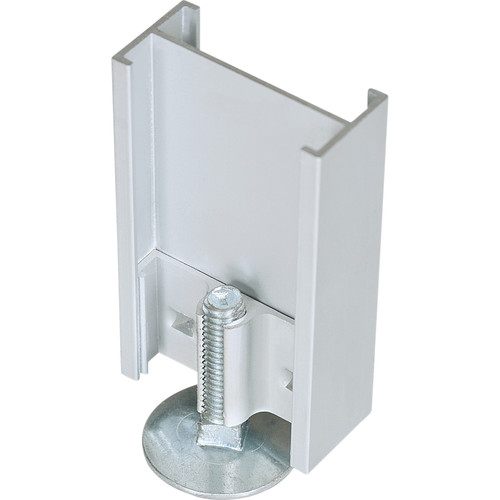 Best Rite 2-Way Straight Connector with Adjustable Leg for Standard Modular Panels