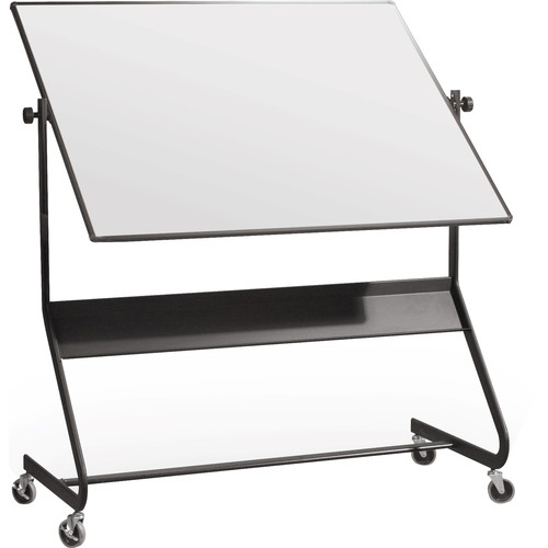 """Best Rite Euro Mobile Reversible Porcelain Steel Board (40 x 30"""")"""