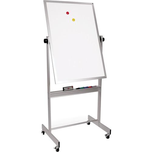 """Best Rite Deluxe Mobile Reversible Board (Porcelain Steel / Porcelain Steel, 40 x 30"""")"""