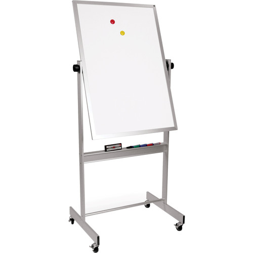 "Best Rite Deluxe Mobile Reversible Board (Porcelain Steel / Porcelain Steel, 40 x 30"")"