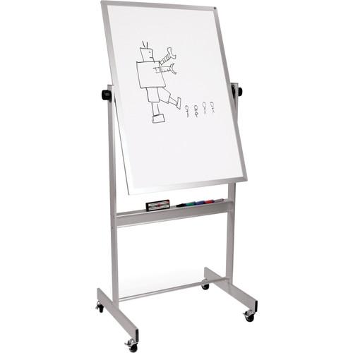 "Best Rite Deluxe Mobile Reversible Board (Dura-Rite / Natural Cork, 40 x 30"")"