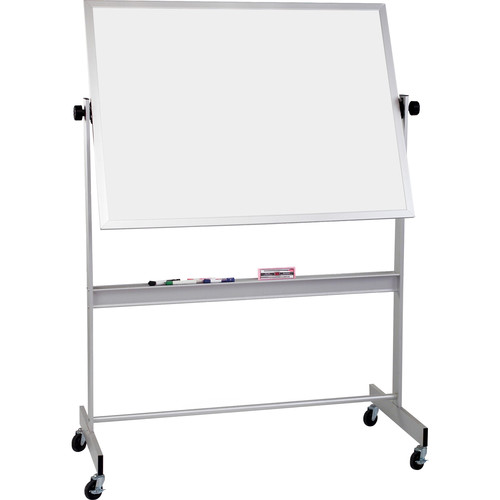 Best Rite Deluxe Mobile Reversible Board (Porcelain Steel / Porcelain Steel, 4 x 5')