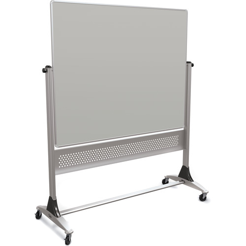Best Rite Platinum Mobile Reversible Markerboard (4 x 5', Projection Gray)