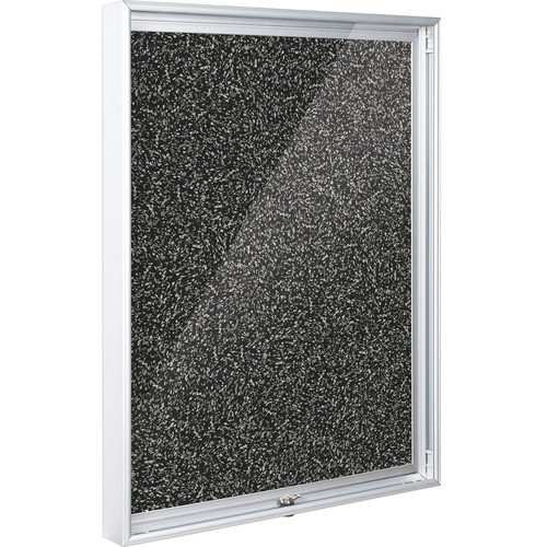 Best Rite 94CAA-96 Economy Enclosed Bulletin Board Cabinet (Rubber-Tak)