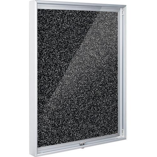 "Best Rite 94CAB-96 Economy Enclosed Bulletin Board Cabinet (24 x 36"", Rubber-Tak)"