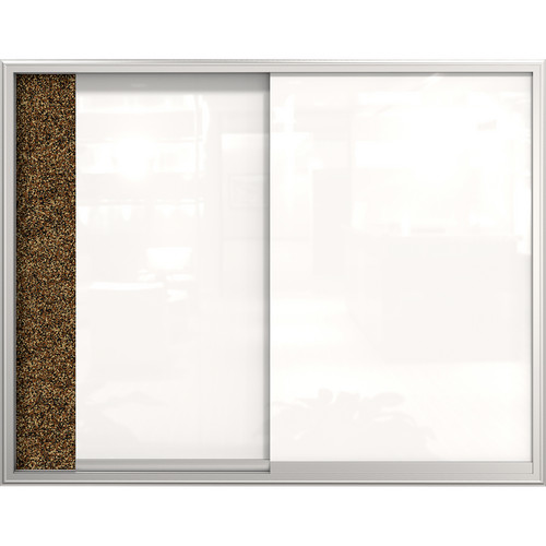 "Best Rite Visionary Glass Sliding Enclosed Cabinet (36 x 48"")"