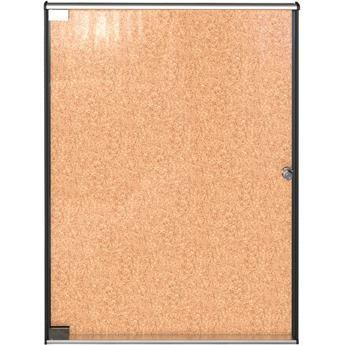 "Best Rite Ultra Enclosed Bulletin Board Cabinet (25.1 x 19.75"")"