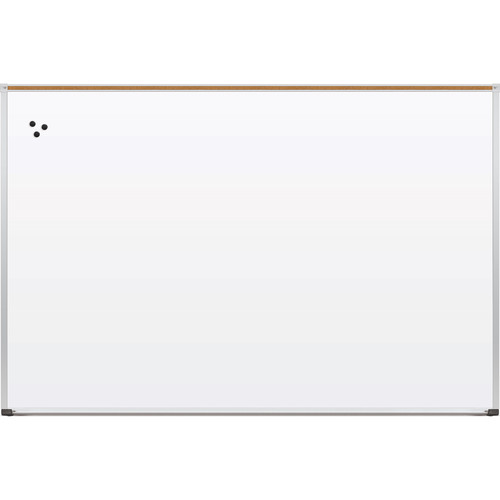 Best Rite Green-Rite Porcelain Markerboard with Aluminum Trim (4 x 6')