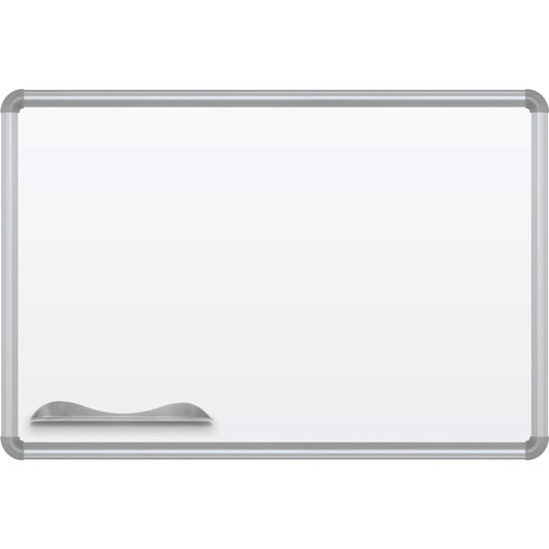 Best Rite Green-Rite Porcelain Markerboard with Silver Presidential Trim (2 x 3')